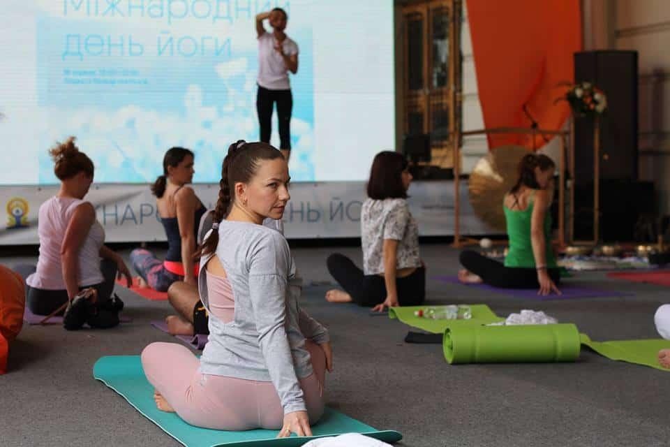 Міжнародний день йоги у Львові