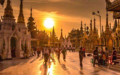Мьянма. Путешествие через всю страну. Йога-тур.
